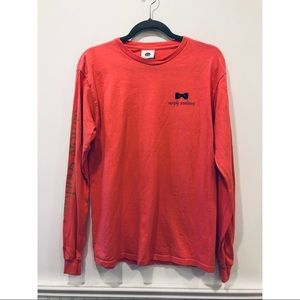Simply Southern Long Sleeve Coral Tee